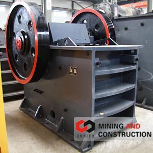 CONCASSEUR À MÂCHOIRE de Matériaux Mines industriels