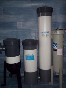 Porte filtre en PVC & en PP
