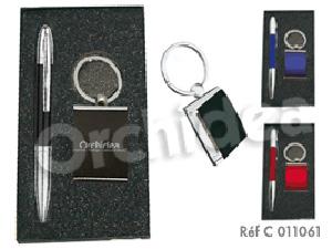 Coffret : Stylo + Porte clés