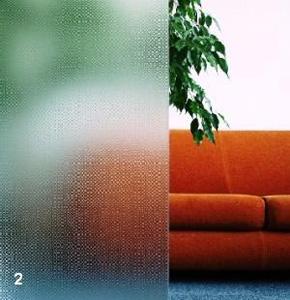 Verre imprimé peau d'orange