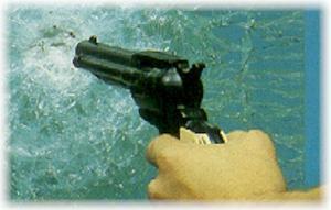 Verre feuilleté de securité anti-balles