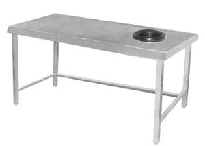 Table centrale avec T.V.O