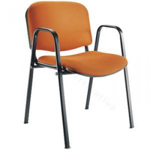 Chaise avec accoudoir m�tallique