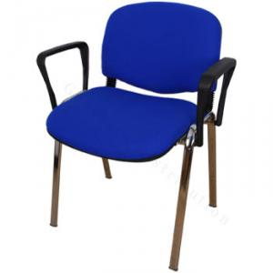 Chaise avec accoudoir en PVC