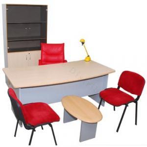 Bureau de direction avec 3 tiroirs