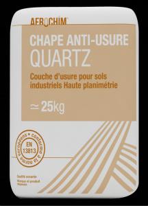 Durcisseur de surface.Chape Anti-Usure Quartz