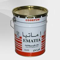 Peinture mate à base de résine alkyde: Ematia