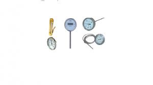 Thermomètre bimétallique