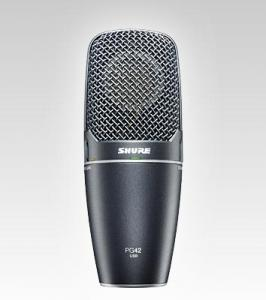 SHURE Micro statique chant