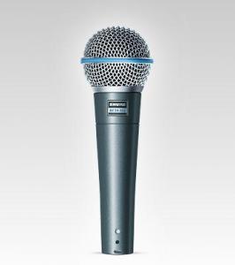 SHURE Microphone voix dynamique