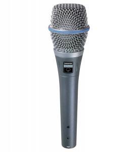 SHURE Microphone voix électrostatique