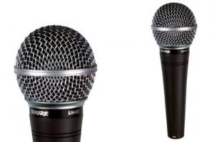 SHURE Microphone voix chant