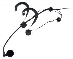Microphone serre-tete supercardioide