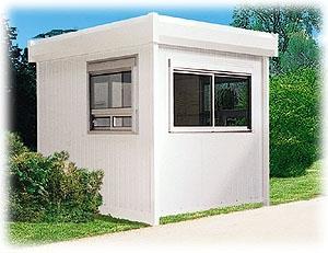 Construction des cabines en panneaux sandwich