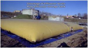 Stockage deffluents bruts