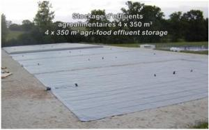 Stockage d'effluents agroalimentaires