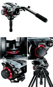 Manfrotto 504HD Rotule Vidéo Pro