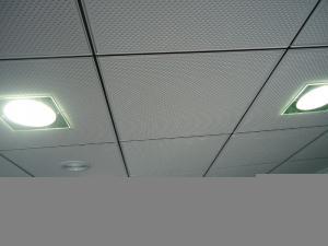 Panneaux de plafonds acoustiques