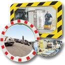 Miroirs industrie et logistique