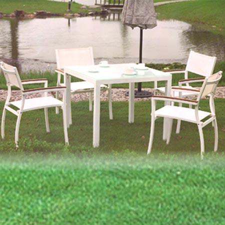Meubles pour jardins en plastique CUBIC WG