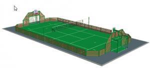 gazon synth tique pour terrains multi sports tunisie. Black Bedroom Furniture Sets. Home Design Ideas