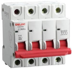 Disjoncteur modulaire 4P