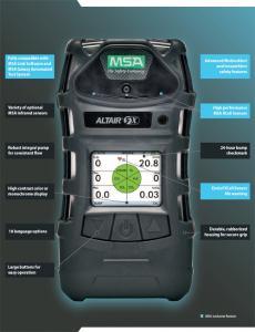 Detecteur gaz mobile
