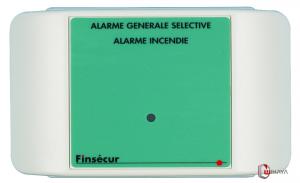Diffuseur d'alarme générale sélective -FINSECURE