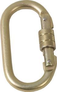 Mousqueton symétrique en acier à verrouillage IRUDEK