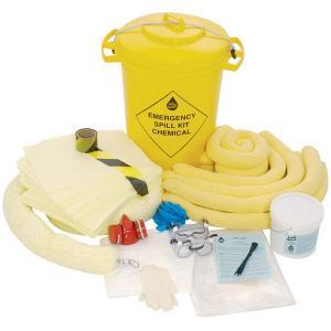 Kit absorbant produits chimiques  ( JSP )
