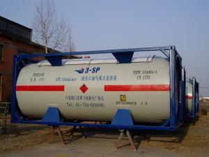 Conteneur de 20 feet de transport citerne GPL