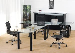 Bureau  lamda avec table de reunion