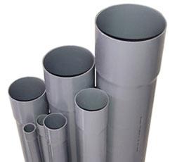 Tubes en PVC évacuation