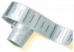 Étiquette Imprimée sur PVC Argent