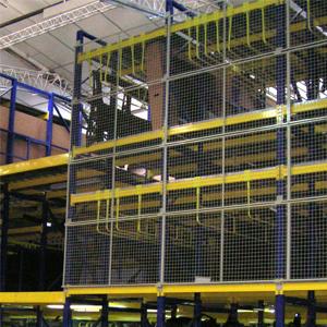 Rayonnage métallique à 3 niveaux type lourd