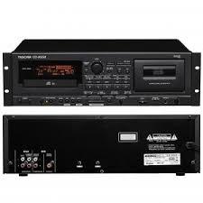 Lecteur - Enregistreur Combin� lecteur CD/Cassette TASCAM