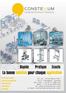 Stuctures modulaires en aluminium
