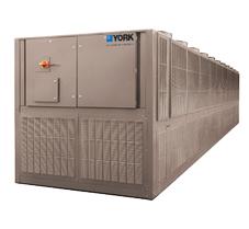 Refroidisseur de liquide à condensation par air et compresseurs à vis à vitesse variable