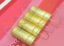 Capacitor axial cathode fever