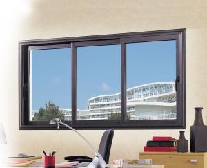 Fenêtre / porte-fenêtre coulissante en aluminium