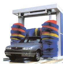 Brosses kiosque (pour portique de lavage autos)