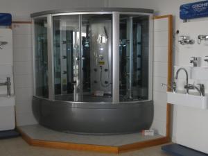 Cabine de douches