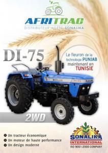 Tracteur Agricole SONALIKA