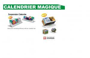 Calendrier Magique