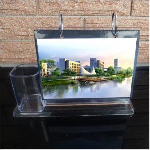 Pot de bureau en acrylique