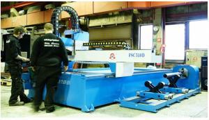 Machine CNC peràage et coupe par plasma et oxycoupage