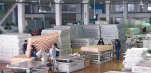 Unité et machines de fabrication des matelas en ressort