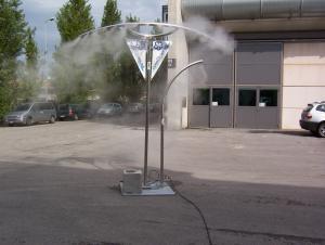 Système de refroidissement révolutionnaire pour les grands espaces ouverts.
