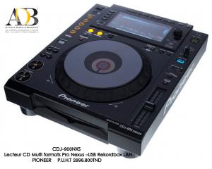 Lecteur CD Multi formats Pro Nexus-USB Rekordbox LAN PIONEER