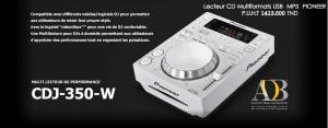 Lecteur CD Multiformats USB PIONEER